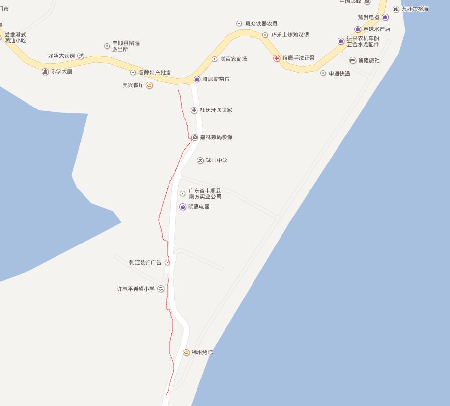 潮客小镇网:留隍镇春节交通管制信息与停车指引