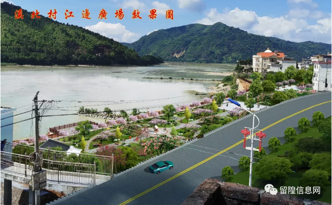 潮客小镇网,2020-02-09:溪北村神砂大桥执勤点现场